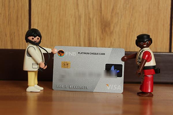 Alles betalen met een creditkaart