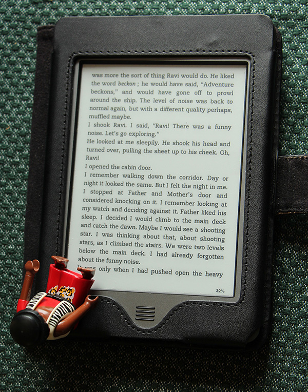 Boeken lezen tot je doodvalt, met een Kindle