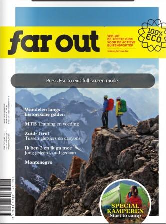 Cover Far Out - Hangmatdagboek