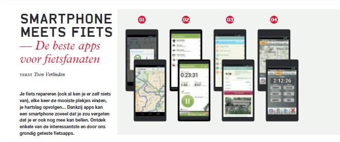 Apps voor fietsfanaten - Far Out - Hangmatdagboek - Toon Verlinden