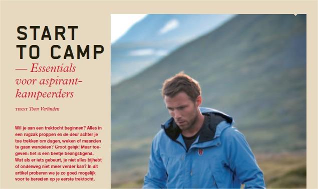 Start to camp - Far Out - Hangmatdagboek - Toon Verlinden