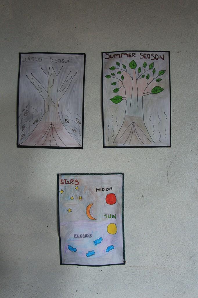 In deze school in Swaziland leren ze maar over twee seizoenen, maar daar zijn ze niet alleen in. Ook de botanische tuin van Durban verzwijgt de lente en de herfst (terwijl die hier toch echt wel zijn hoor.) [Getrokken in Durban en Swaziland]