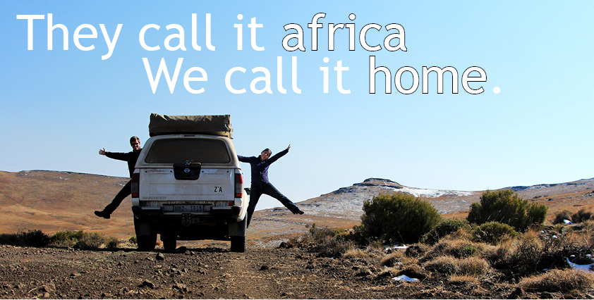 They call it Africa, we call it home