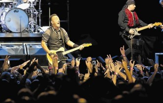 Bruce springsteen in Johannesburg